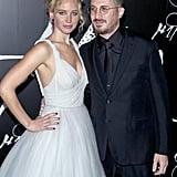Jennifer Lawrence and Darren Aronofsky Finally Pose as a Couple on the Red Carpet