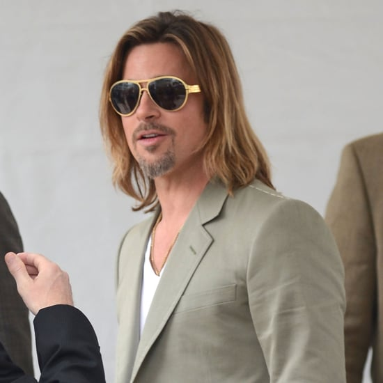 Brad Pitt Pictures Cannes Film Festival Killing Them Softly