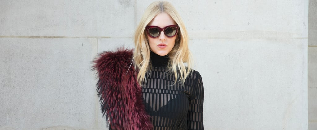 How to Wear a Sheer Outfit Once and For All