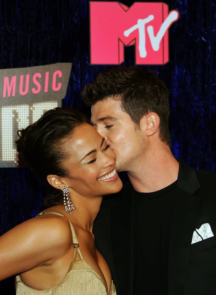Robin Thicke and Paula Patton, 2007