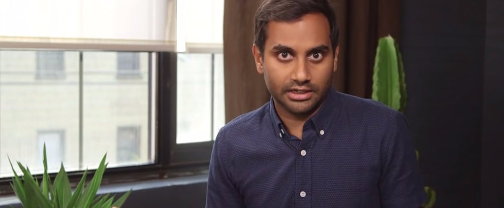 Undecided Voters: Aziz Ansari Would Like to Have a Word With You