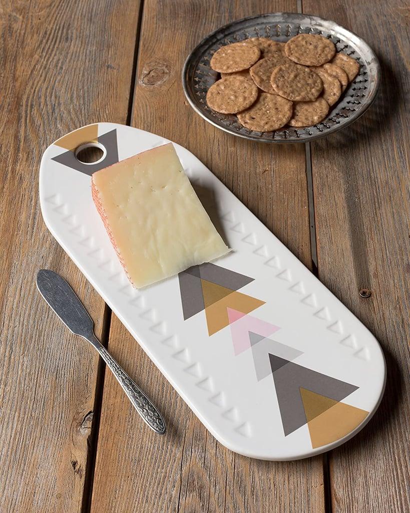 Danica Studio Ceramic Cheese Board in Arrow