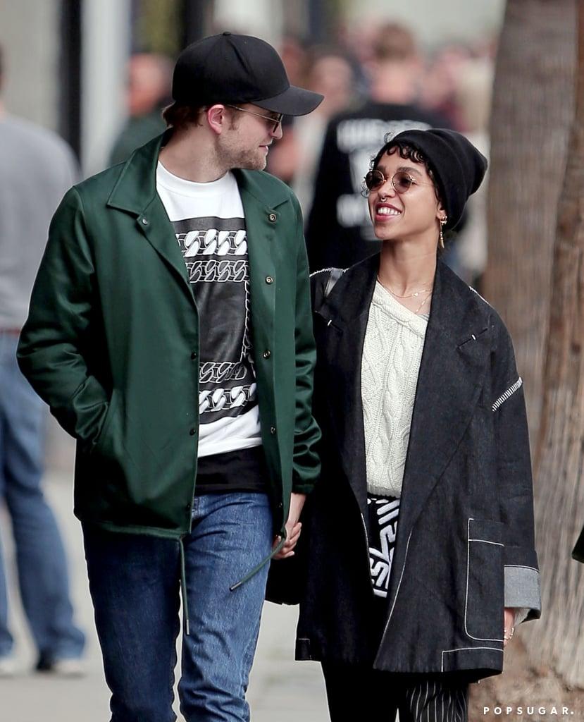 Robert pattinson dating fka twigs engagement