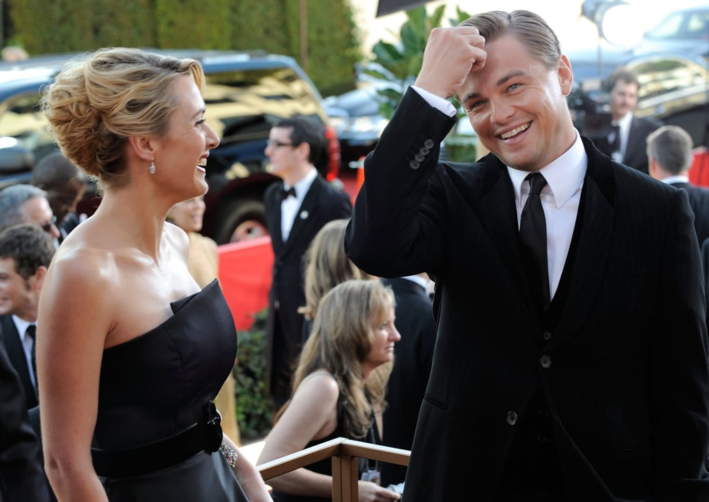 "The adorableness didn't stop there, since Leo gushed to Ryan Seacrest on the 2009 Golden Globes red carpet: ""We've been great friends for a long period of time. We were actively looking for something to do together. It felt really natural. She's my homie.""  Things got even sweeter inside the show, when Kate won for her role in Revolutionary Road and included a heartfelt message to Leo in her acceptance speech."