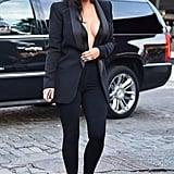 Kim Kardashian Clearly Isn't Shy When It Comes to Showing Skin