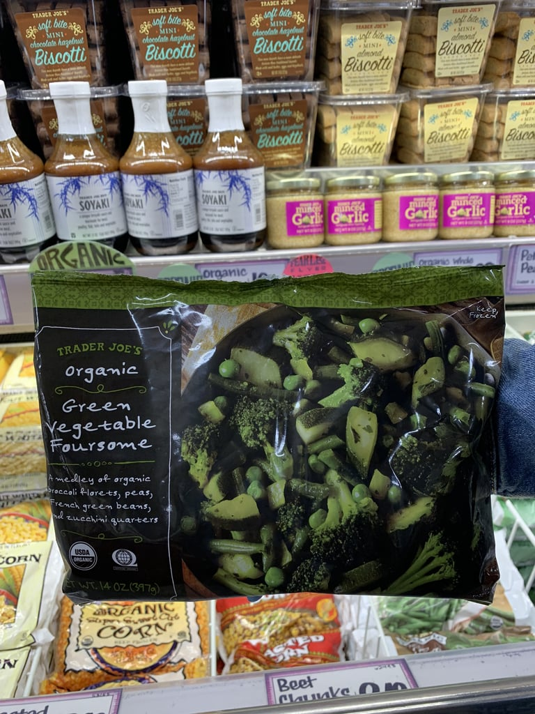 Organic Green Vegetable Foursome ($3)