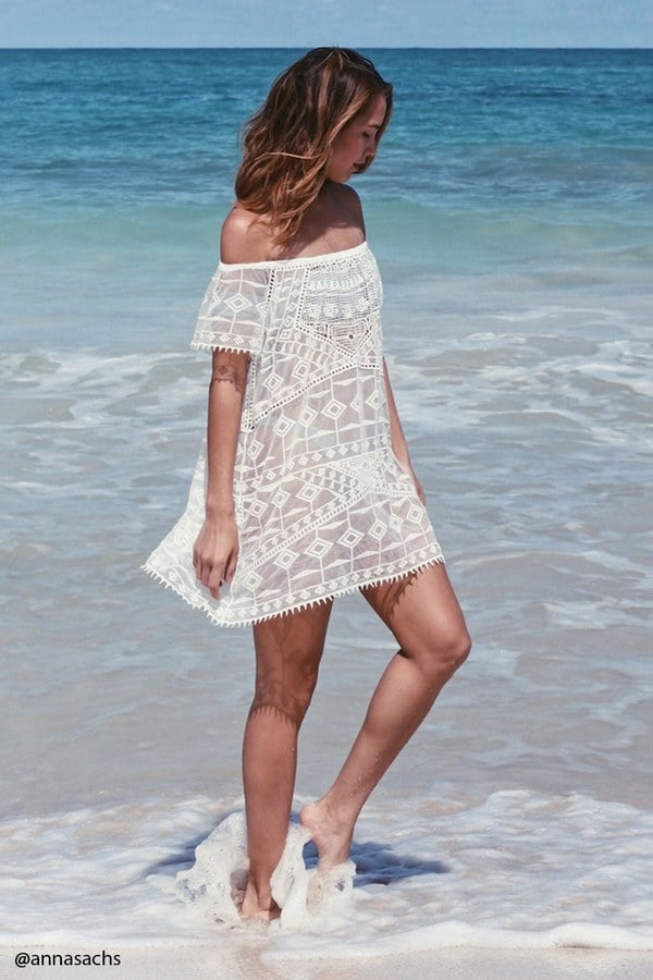 dac682dce5dcb FOREVER 21+ Crochet Embroidered Cover-Up | Best Swim Cover-Ups 2017 ...