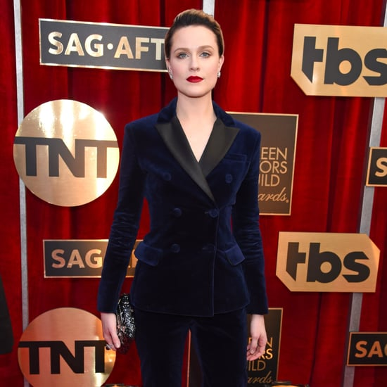 Evan Rachel Wood's Altuzarra Suit at SAG Awards 2017