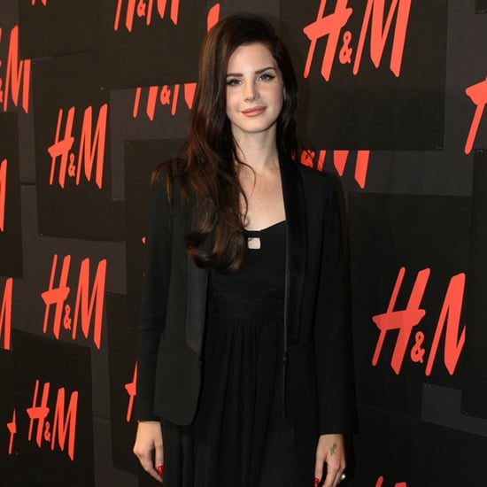 Lana Del Rey at H&M Event in NYC