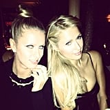 Paris Hilton and Nicky Hilton attended Diane von Furstenberg's dinner party. Source: Instagram user nickyhilton