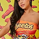 Forever 21 Cheetos Graphic Tube Top