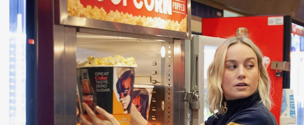 Brie Larson Surprises Fans Seeing Captain Marvel in Theater