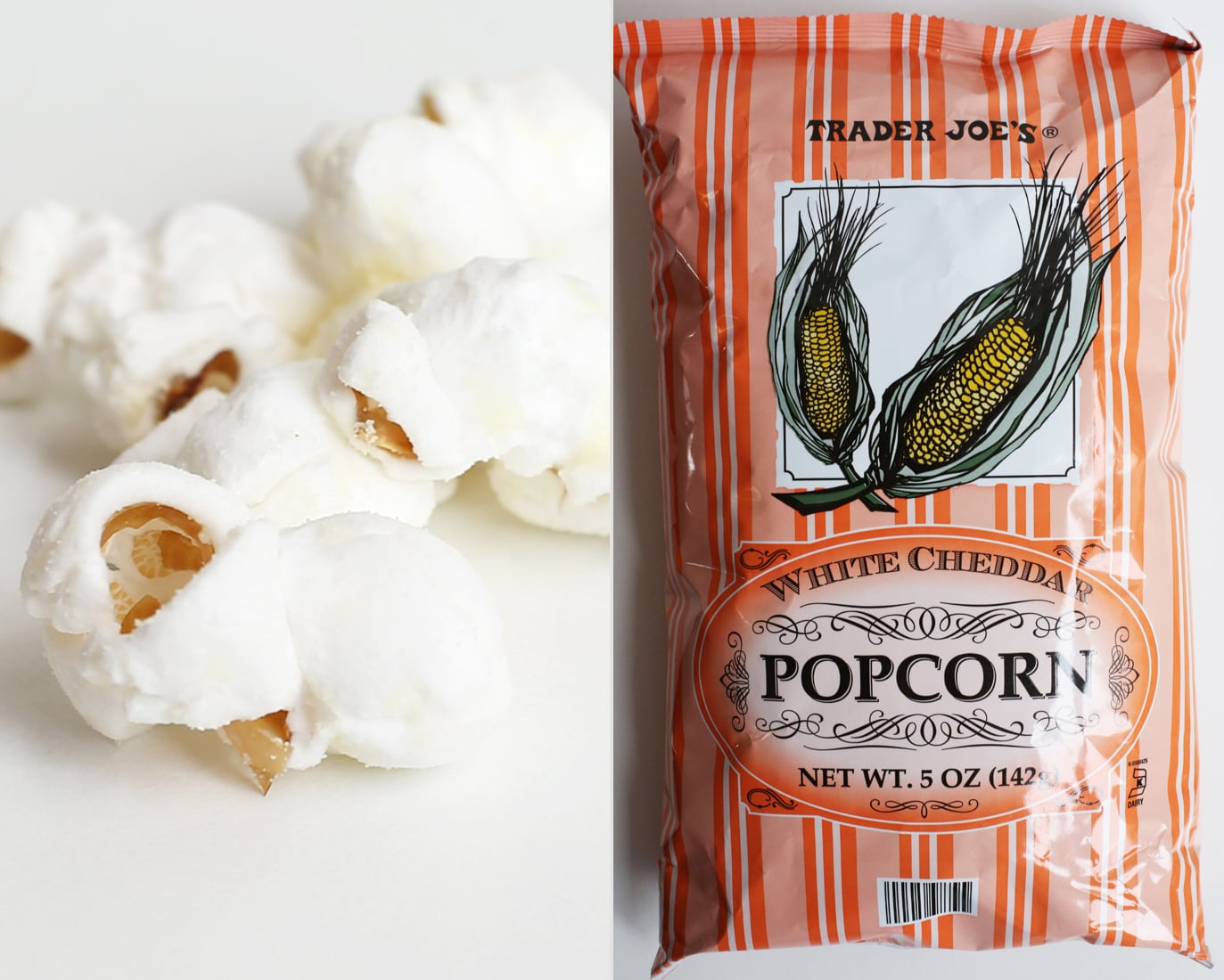 White Cheddar Popcorn ($2)