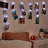 Photo Clip Curtain String Lights