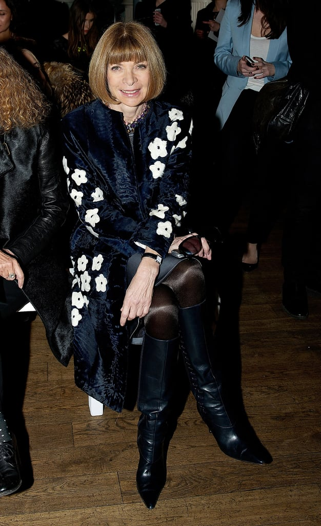 Anna Wintour at Matthew Williamson