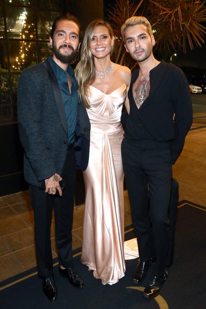 Pictured Tom Kaulitz Heidi Klum And Bill Kaulitz Celebrities At