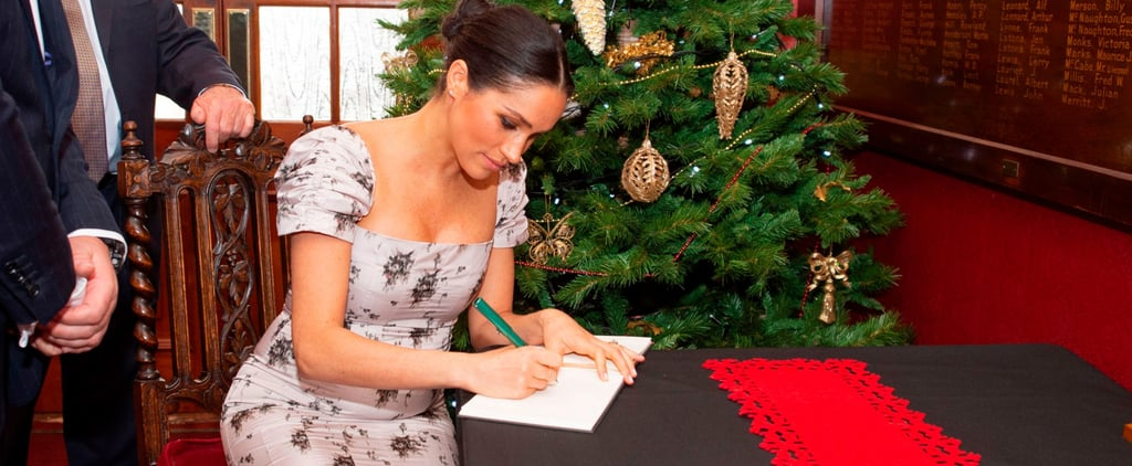 Meghan Markle's Handwriting Pictures