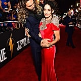 Jason Momoa and Lisa Bonet Bring Their Newlywed Bliss to the Justice League Premiere