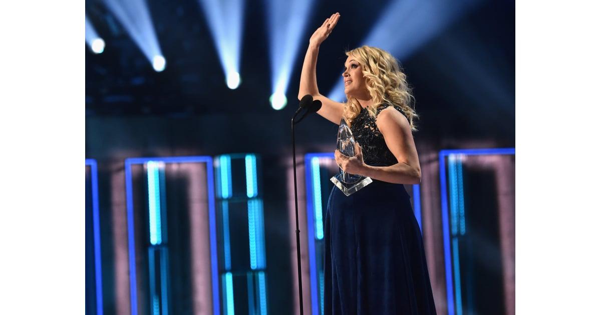 Carrie Underwood S Cma Awards Dress 2018 Popsugar