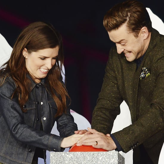 Justin Timberlake and Anna Kendrick Light Up the London Eye