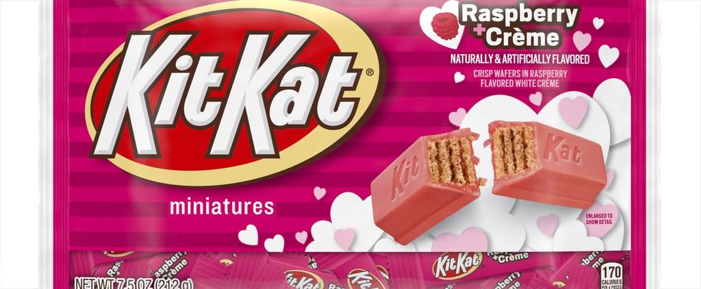 Hershey's Valentine's Day Raspberry Crème Kit Kats | 2020