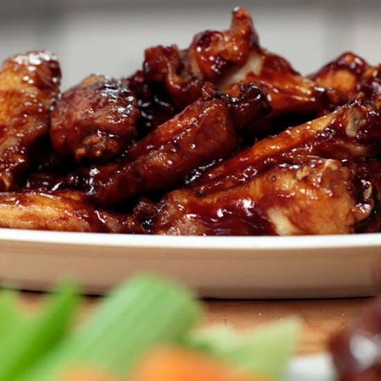 Honey-Barbecue Chicken Wings Recipe