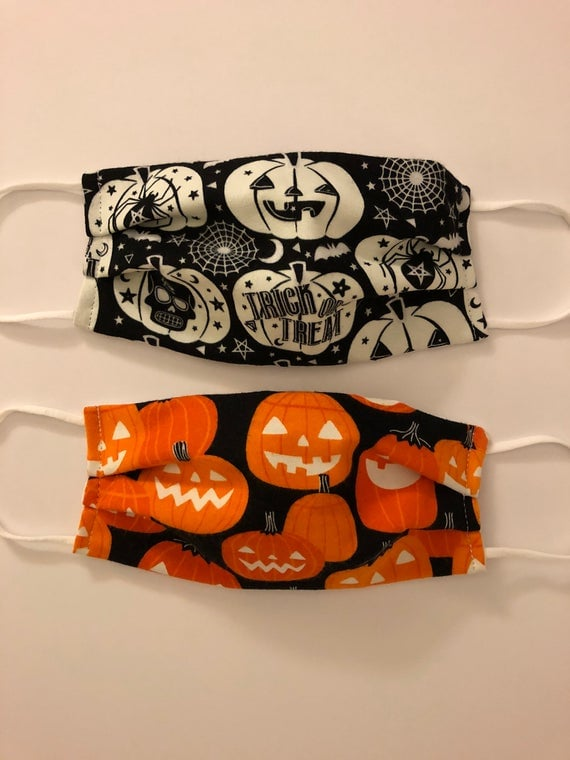 Halloween Face Masks