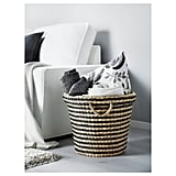 To all the mamas out there — this basket ($19) is great for toy storage and approved for the living room!