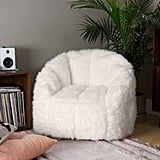 Maggie Faux Fur Shag Chair