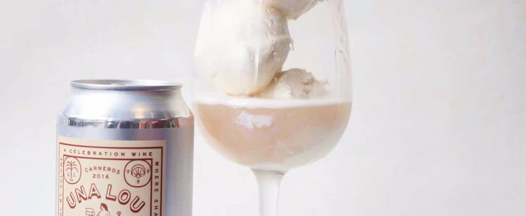 Rosé Ice Cream Combines Your Two Favorite Summer Indulgences