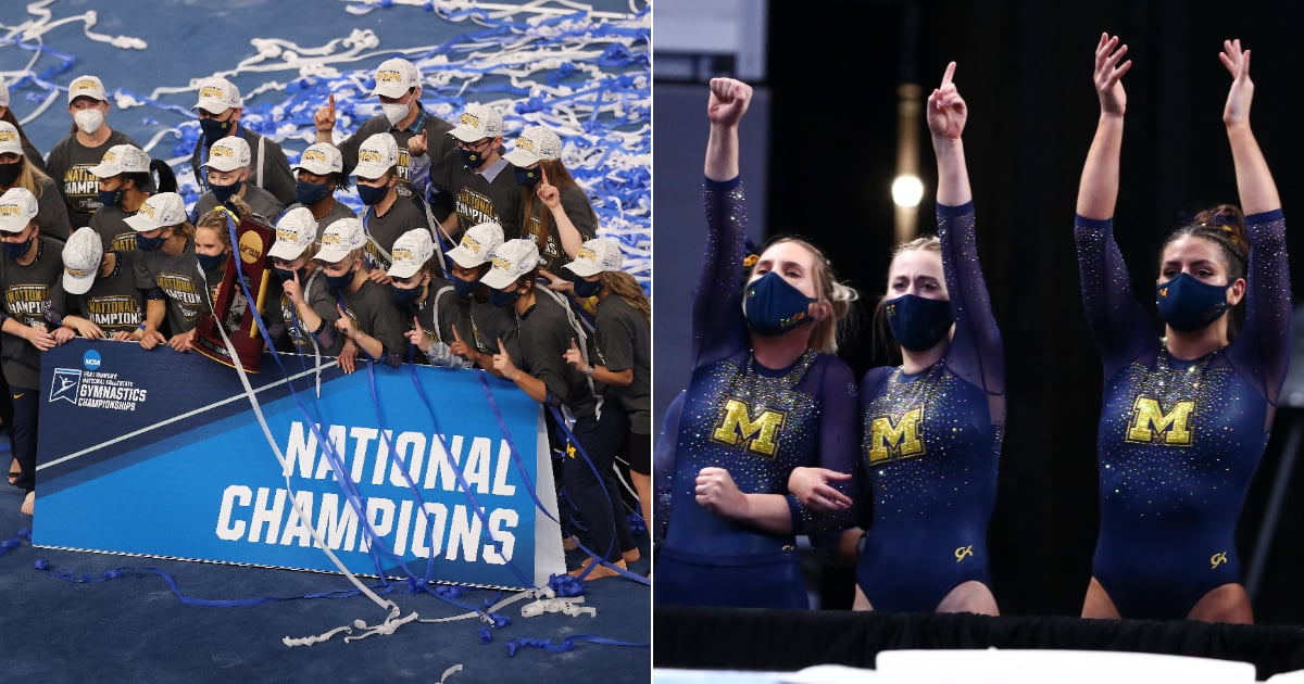 Flip, Stick, Present! University of Michigan Wins First-Ever NCAA Gymnastics Championships