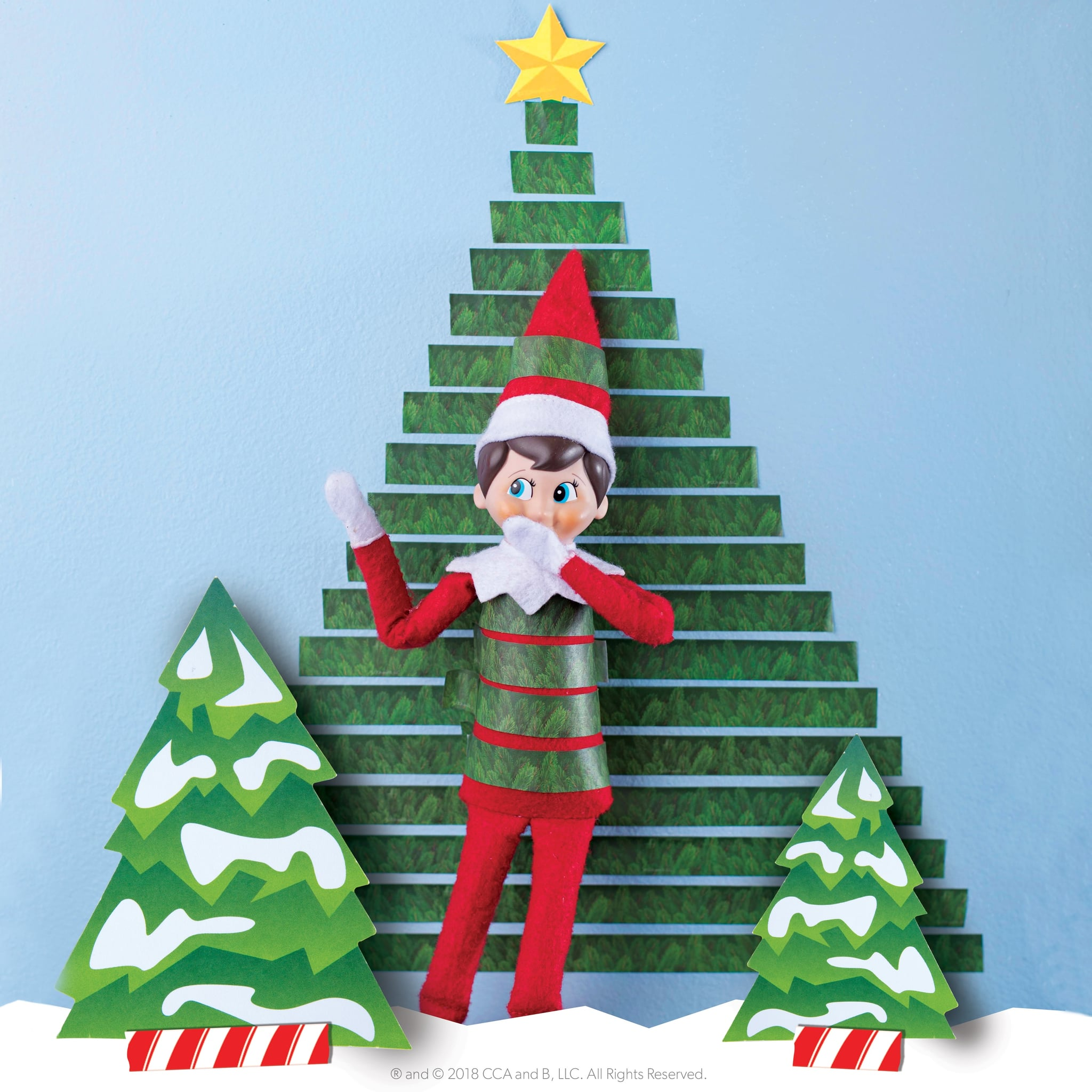 Get Elf On The Shelf Free Diy Props Gif