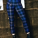 Harry Potter Tartan Ravenclaw Cuffed Pants