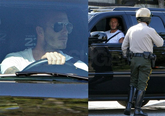 Becks Gets Busted But Becks Gets Paid