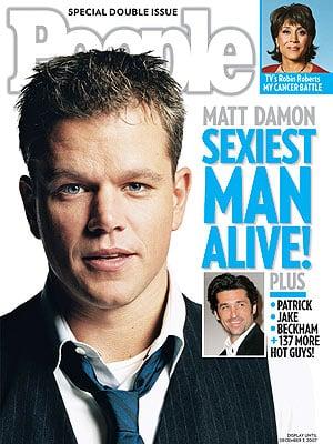 Matt Damon Is Finally People's Sexiest Man Alive!