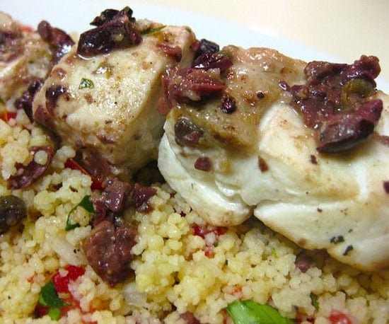 Recipe of the Day: Skewered Fish With Couscous