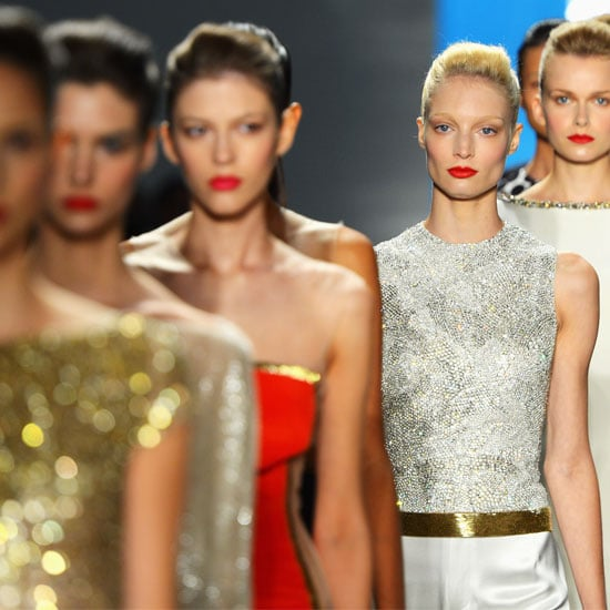 Pictures and Review of Reem Acra Spring Summer New York Fashion Week Runway Show