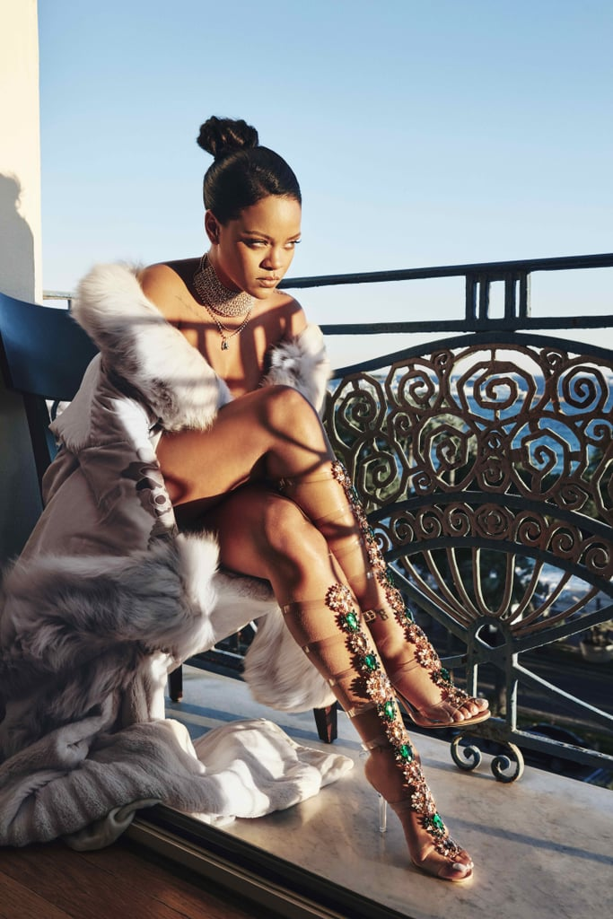"Rihanna x Manolo Blahnik ""So Stoned"" Shoe Collection"