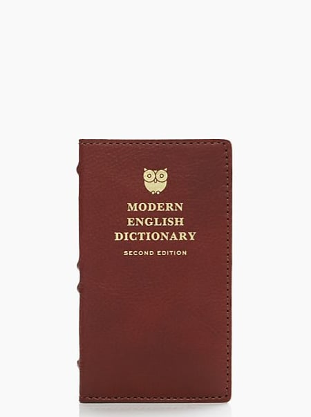 Kate Spade Dictionary iPhone 5 Case