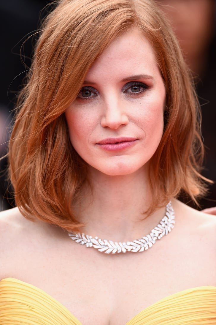 Jessica Chastain | Cannes Film Festival Celebrity Hair and