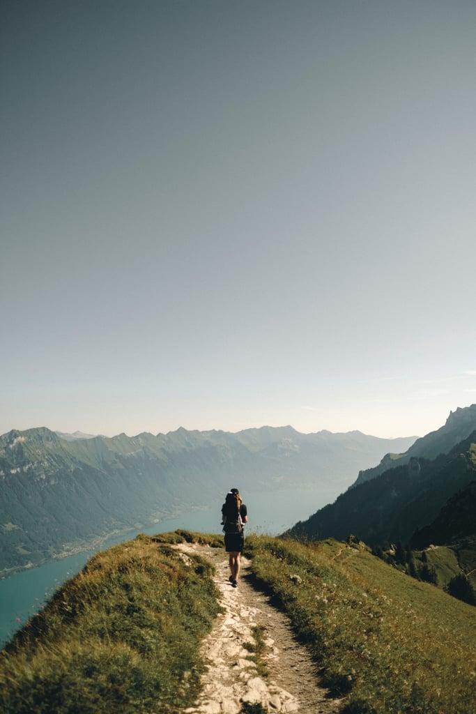 Go hiking.