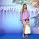 Chrissy Teigen and Luna Stephens at POPSUGAR Play/Ground