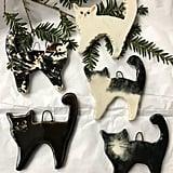 Clay Cat Ornament
