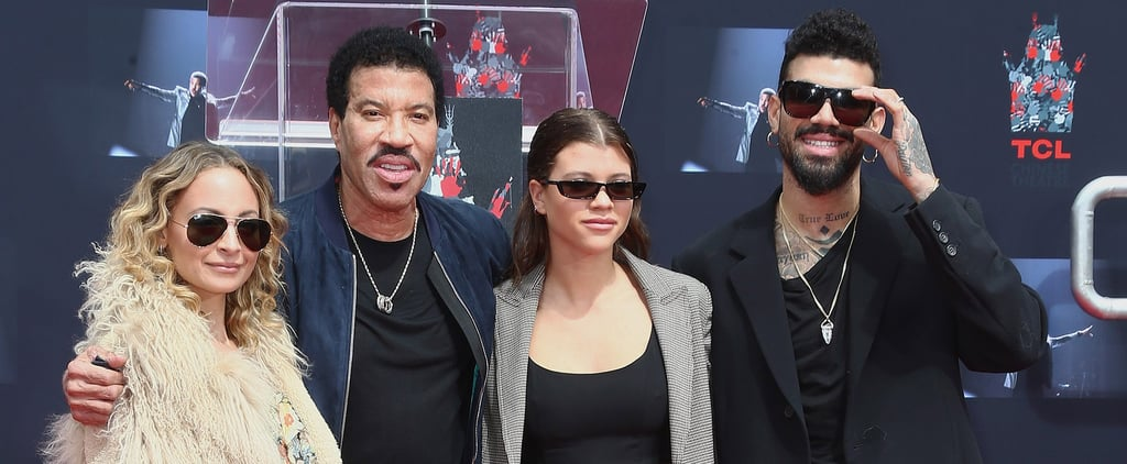Lionel Richie and His Family at Hand and Footprint Ceremony
