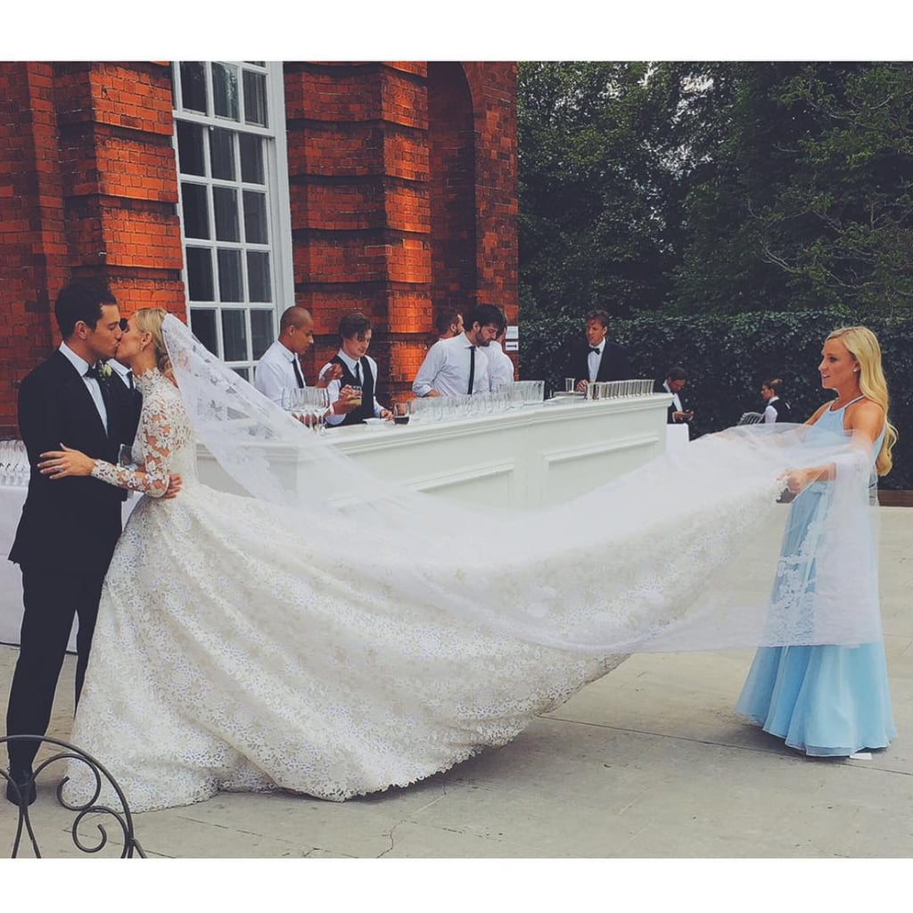Nicky Hilton convinced us that modest is a great way to go when it comes to wedding gowns.