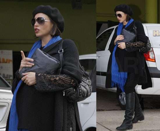 Pictures of Pregnant Dannii Minogue in Melbourne