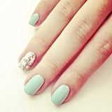 Whether there's snow outside your window or not, our easy snowflake nail art tutorial was a winner on Instagram.