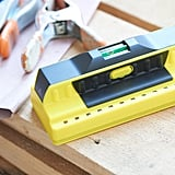 The Nicole Curtis Home collection includes a stud finder.