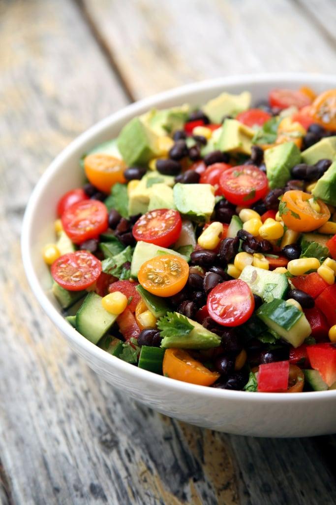 Summer Veggie Black Bean Salad