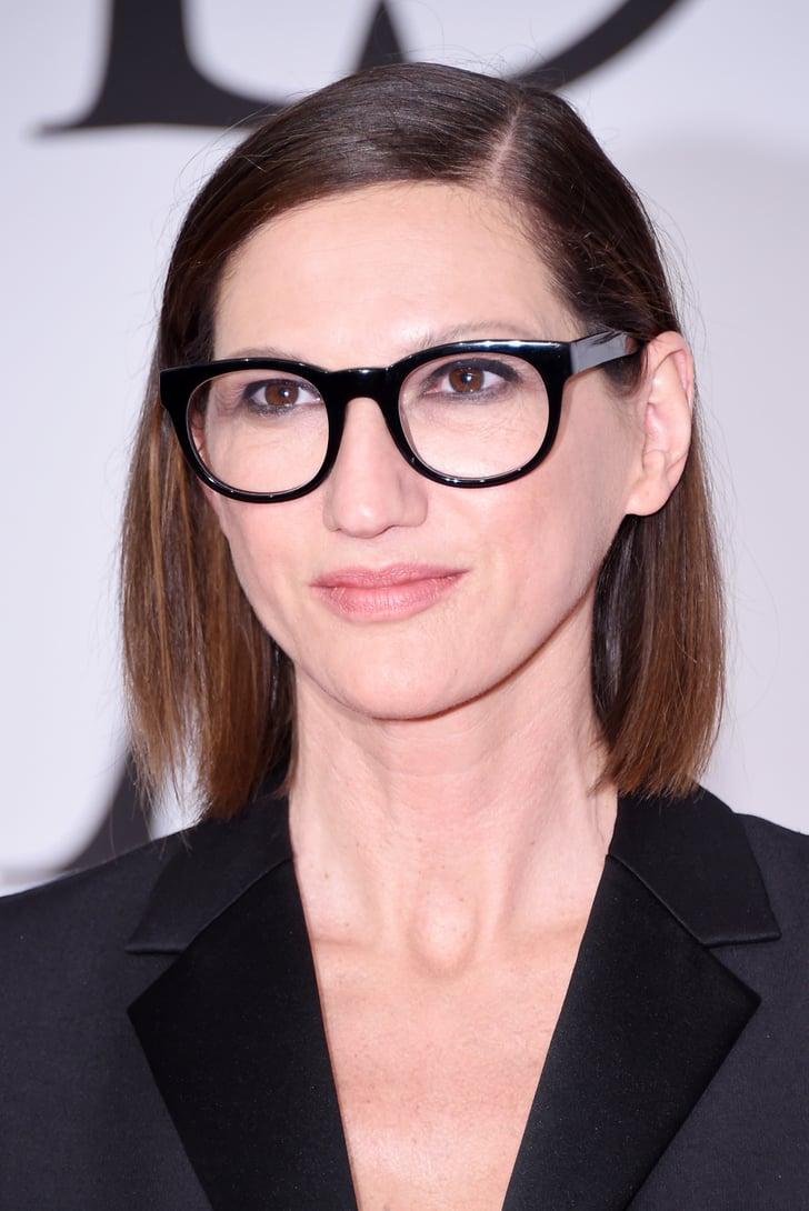 Jenna lyons c l brit s qui portent des lunettes de vue for Portend or portent